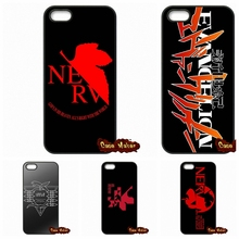 Neon Genesis Evangelion Logo Cover Case For Apple iPod Touch 4 5 6 iPhone 4 4S 5 5C SE 6 6S Plus 4.7 5.5