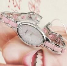 Kimio moda pulsera de diamantes de imitación ovalada mesa de mesa elegante mesa de amor en polvo