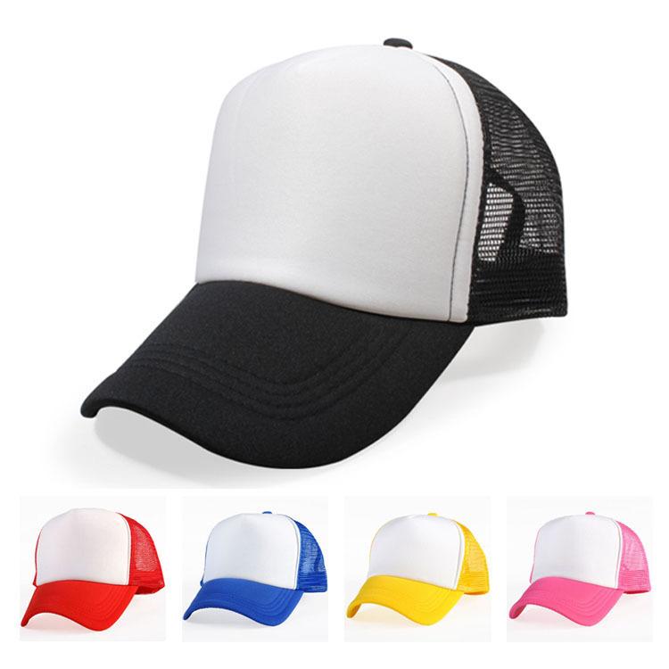Truck Hat DIY Customized Net Cap Blank Light Panel Net Cap Advertisement Hat Company Customized(China (Mainland))