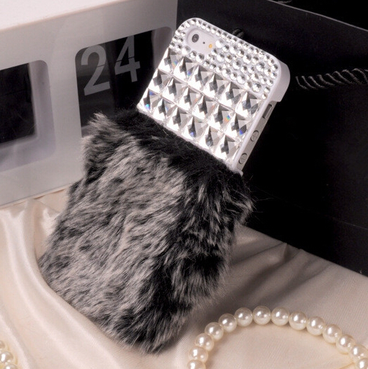 New Hot Case For iPhone 5s Fashion Luxury Diamond Design Cover For iPhone 5 ,1 Piece Free Shipping(China (Mainland))