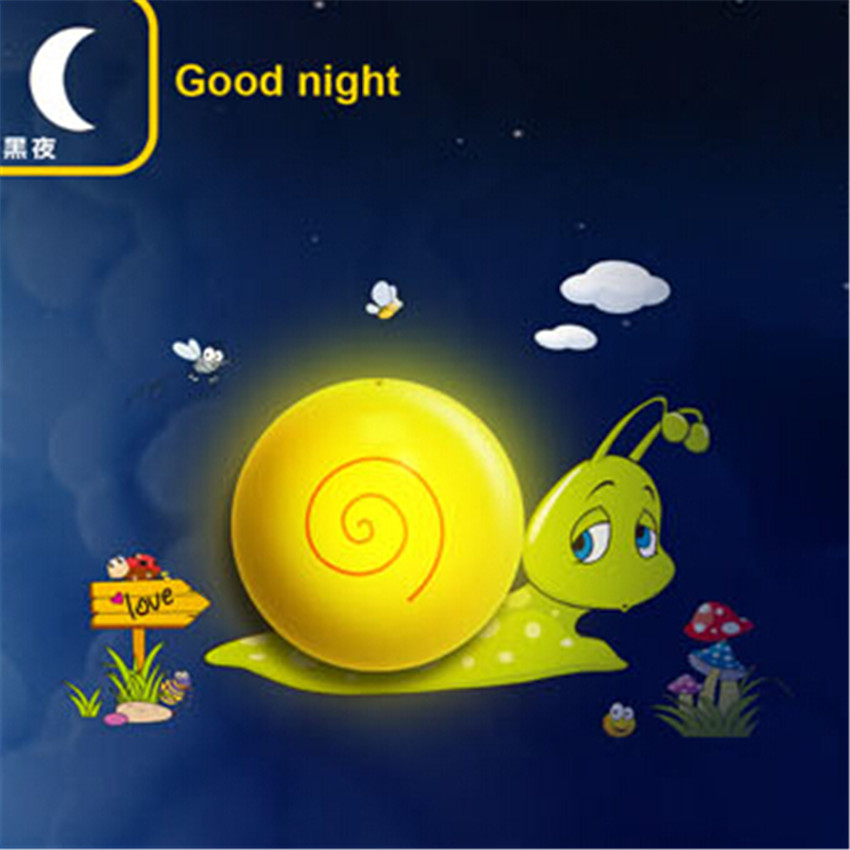 Night Elves Snails night light Lamps for Children Gift baby Toy Tortoise Suitable for living room Bedroom baby room.Free ship(China (Mainland))