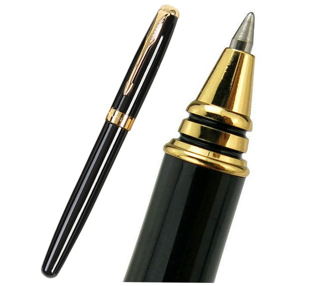 24xRollerBall Pen BLACK color Baoer 388  stationery( Can choose your combination from pen type and 5 colors) Free Shipping<br><br>Aliexpress