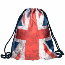 Buy New fashion Women Backpack 3D printing travel softback lady mochila escolar school student drawstring bag mens backpacks 2017 for $3.19 in AliExpress store
