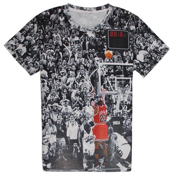 Мужская футболка OEM 2015 t 23 3d tshirt мужская футболка oem t 3d large hand