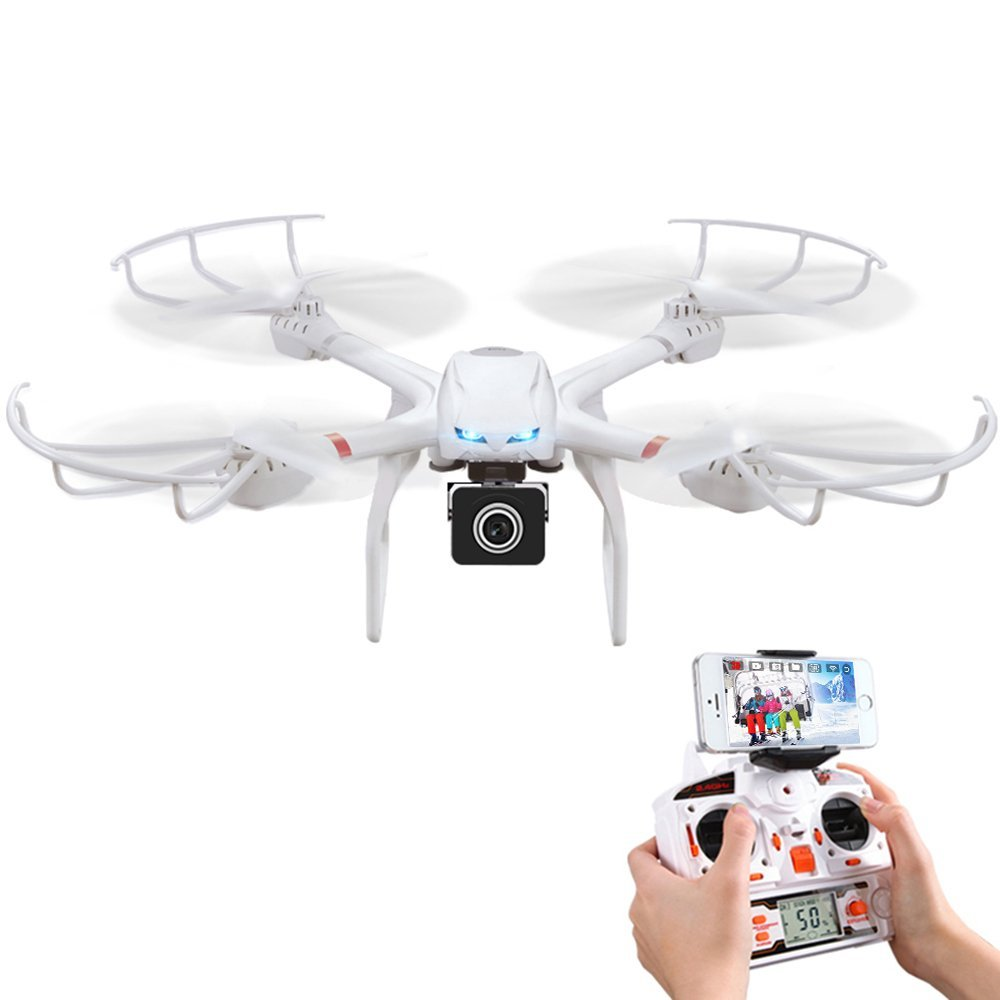 MJX x101 Mini Drone RC Helicopter Professional Drones with Camera HD 1MP 720P Drone Camera 3D Flip FPV Quadcopter 2.4G 4CH 6Axis