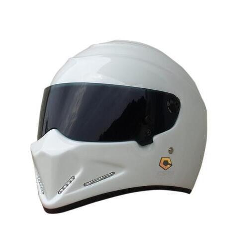 Exclusive genuine karting motorcycle safety helmets MTB Full helmet ATV-4 White