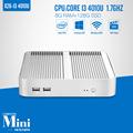 Partaker Desktop mini computer Fanless core i3 Mini PC with usb 3 0 hdmi vga Windows