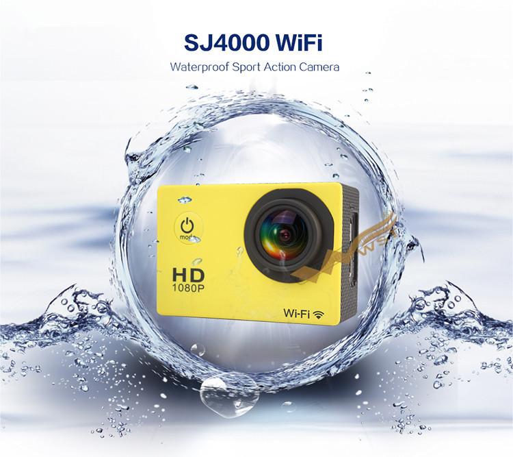 Coyote SJ4000 HD sports Micro camera waterproof mini DV 1080P wifi 1.5 inch LED screen 32G SD card