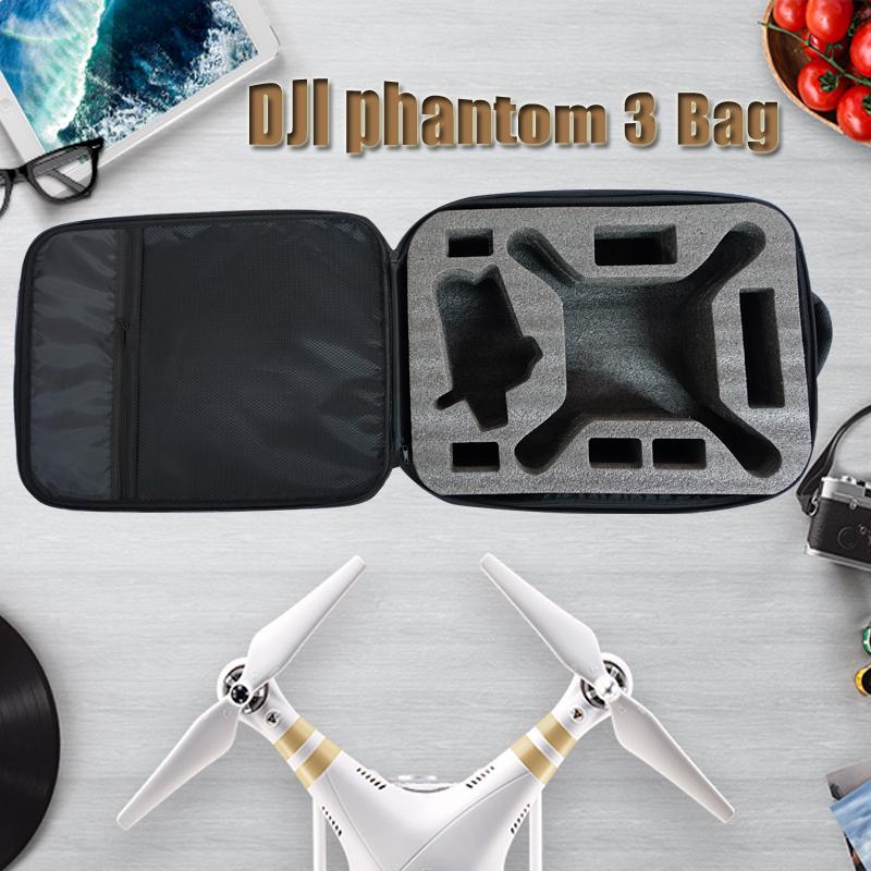 Hot Sales dji phantom bag backpack waterproof for DJI phantom 3 RC fpv drone quadcopter black case box Low Shipping VS x350 pro(China (Mainland))