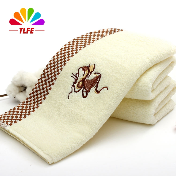TLFE Coffee Tea Cup 100% Cotton Face Hand Brand Hair Towels for Adults 33*74CM 4PCS Soft Cheap Kitchen Gift Towels toallas FT208(China (Mainland))