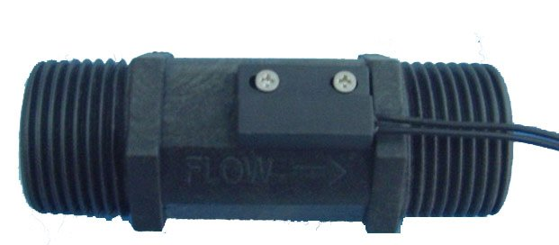 "Small Size Plastic Piston Flow Switch 1"" inch"