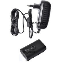 Бесплатная доставка! 110 В — 220 В сетевой адаптер зарядное устройство для Sony NP-F970 F750 F550 из светодиодов видео YN-300II YN160II YN300 II YN600 W260