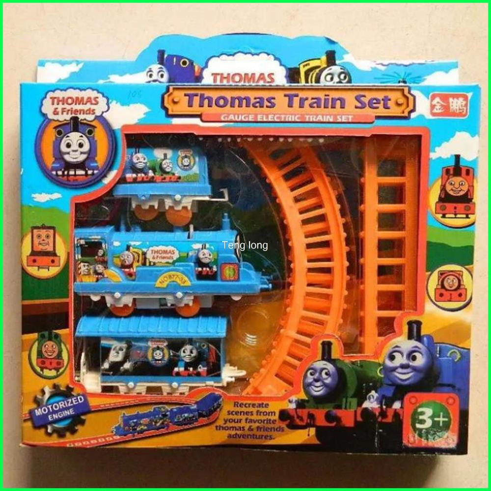 free shipping thomas train sets thomas train electric eight rail cars toys for children classic. Black Bedroom Furniture Sets. Home Design Ideas