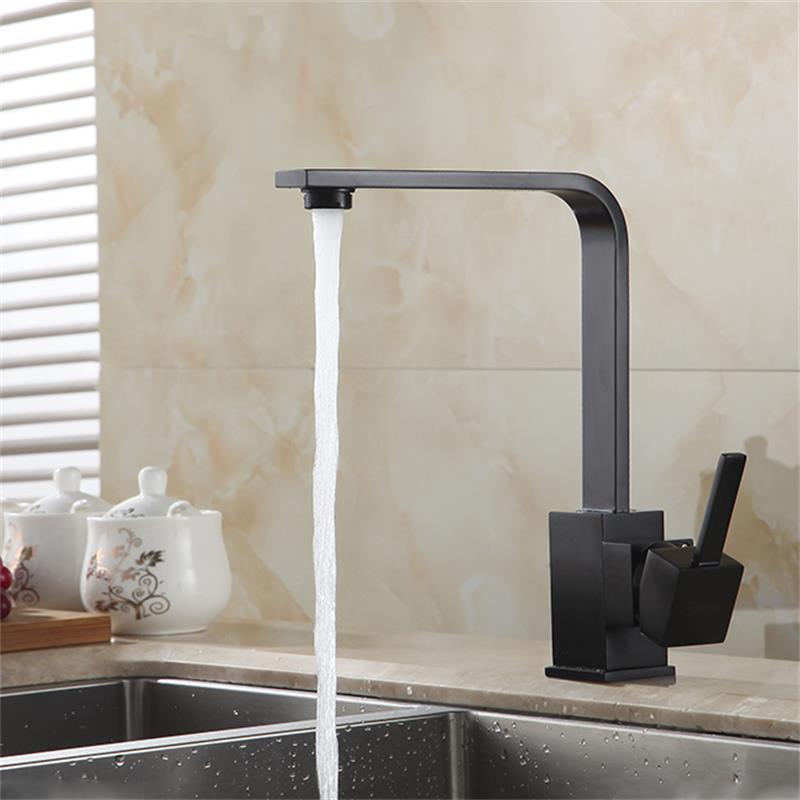 Black Kitchen Sink Taps Uk: HDM Kitchen Accessories Kitchen Faucet Basin Faucet Black