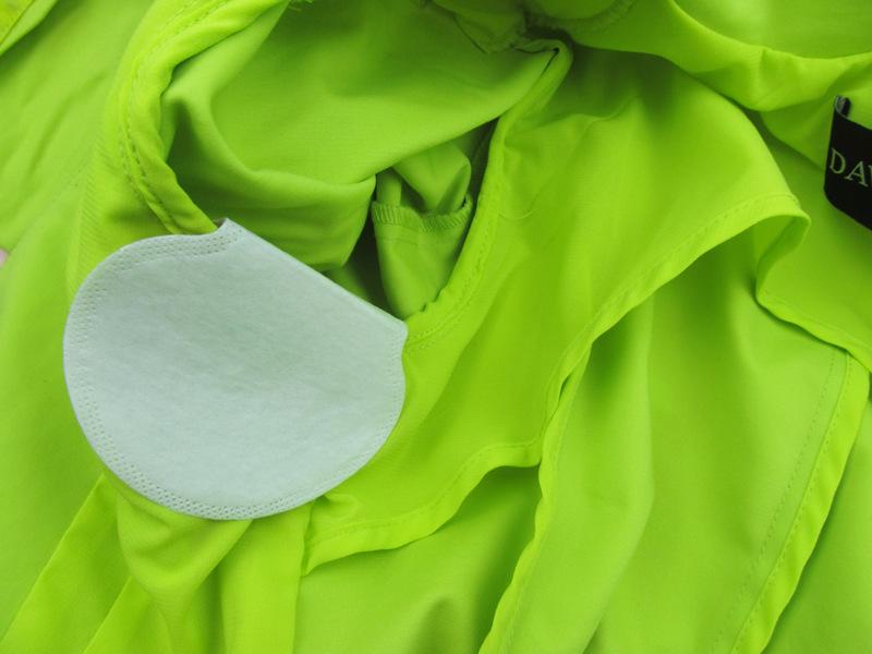 1 компл. / 50 шт. одноразовые поглощение пота подмышками пот гвардии колодки дезодорант подмышек лист платье одежда щит пот пот колодки