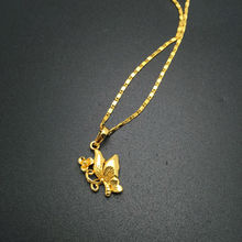 Wholesale Free shipping 24k gold Butterfly pendant necklace Fashion necklace necklace pendant fashion men s jewlery