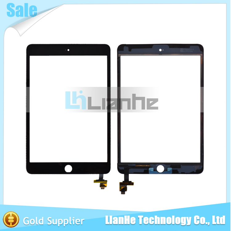 Top Quality Replacement Spare Parts for iPad Mini 3 Touch Screen With Digitizer Panel Black Color(China (Mainland))