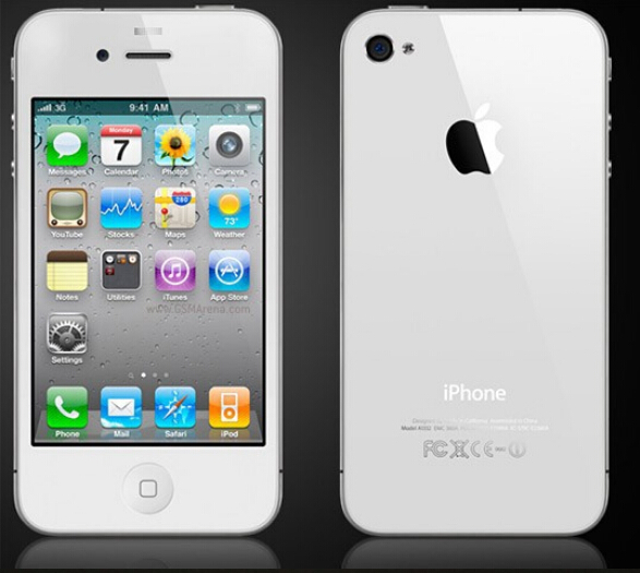 Full Original iPhone 4 Mobile Phone 8GB 16GB 32GB Used Cellphones Like Brand New(China (Mainland))