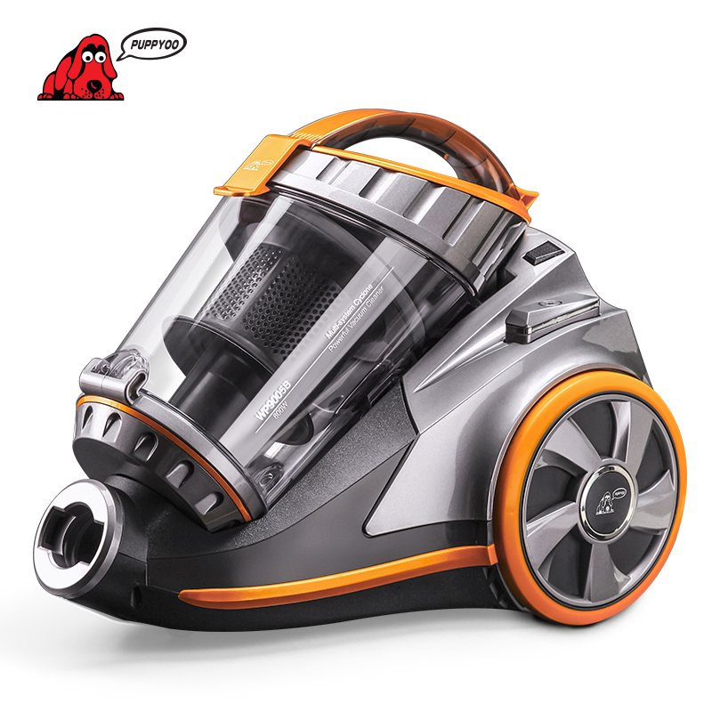 Canister Vacuum Cleaner for Home Europe Energy Efficiency Standard Multi-system Cyclone Vacuum Cleaner WP9005B PUPPYOO()