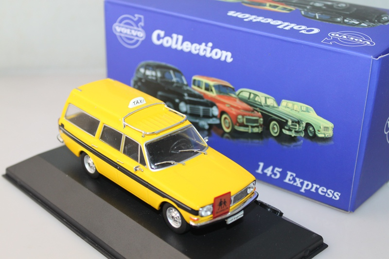 1/43 Atlas Volvo 145 Express TAXI yellow scale models(China (Mainland))