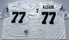 Stitiched,Oakland Raider Howie Long lyle alzado Throwback for men(China (Mainland))