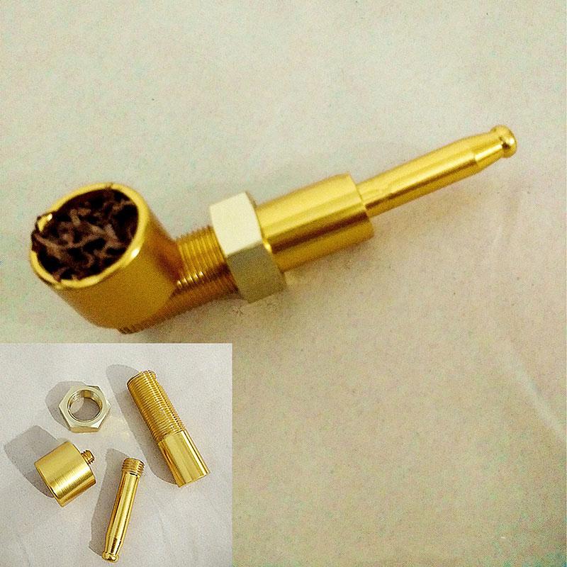 Metal Pipe Tobacco Smoking Pipes Gift Mill Smoke Narguile Weed Grinder screw pipe titanium nail mauvaises herbes tabak(China (Mainland))