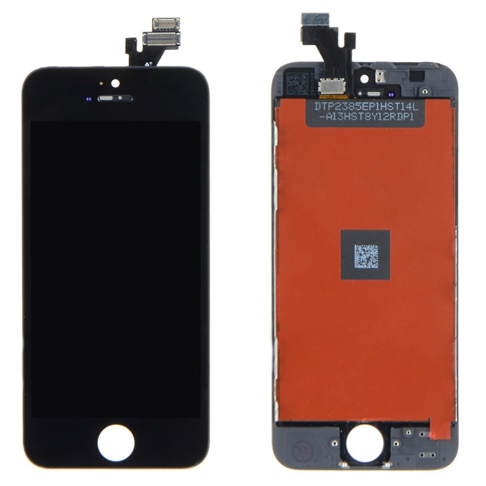 A LCD Display+Touch Screen Digitizer Assembly  For iPhone 5 5G White VAG76 T15