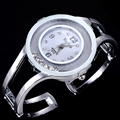Luxury Women bangle watches quartz fashion bracelet watch crystal stainless steel brand xinhua round dial wristwatch
