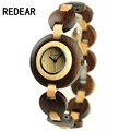 REDEAR915 bamboo and wood material luxury watches women s high end brand wrist watch quartz watch