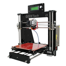2016 New Upgraded Quality High Precision Reprap Prusa I3 3d Printer DIY Kits Free LCD and 1KG Filament