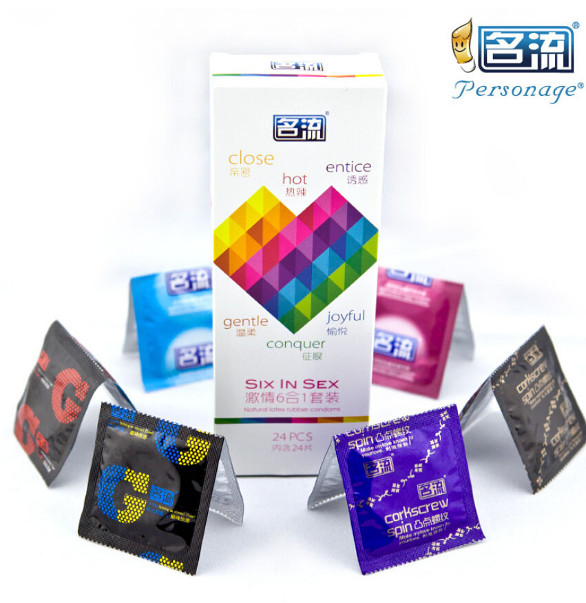 48pcs male condoms condones mix tight hot entice pleasure latex condom lubricantion adult exciter sex toys the products for man(China (Mainland))