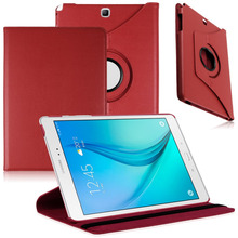 """New 360 Rotating PU Leather Stand Case Cover For Samsung Galaxy Tab A 9.7"""" SM-T550 Tablet(China (Mainland))"""