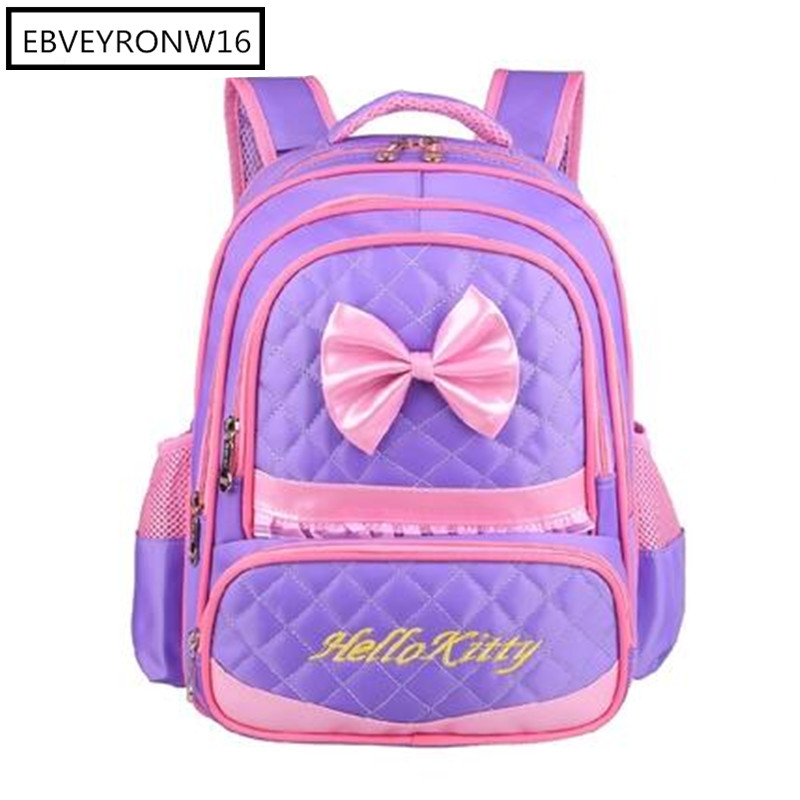 Children School Bags Set High Quality Orthopedic School Backpack For Girls Waterproof Satchel Kids Book Bag AW276-518