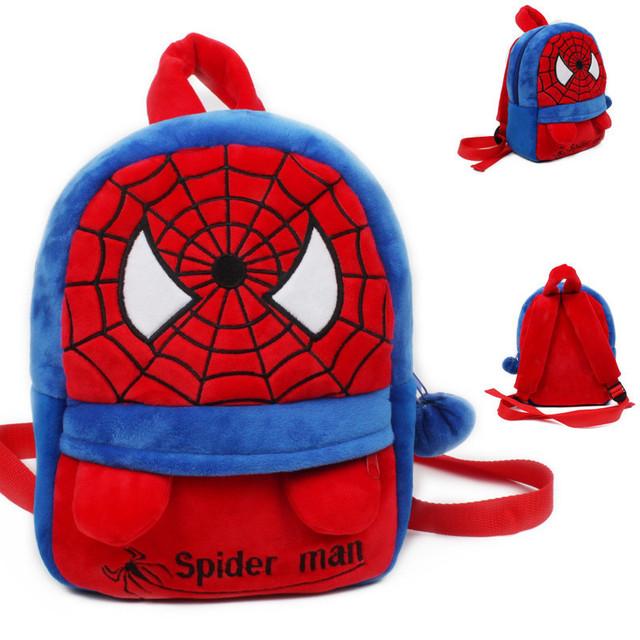 Новое поступление прохладный паук плюшевые мультфильм рюкзак дети характер школьников мешок подарки для детей возрастом 1 - 3 Mochila Infantil горячая распродажа