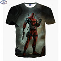 Mr 1991 newest arrive America Cartoon Anime Bad guys Deadpool 3D printed t shirt boys big