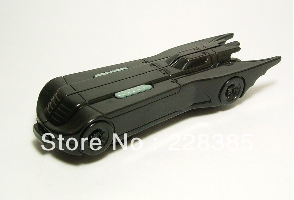 High quality robot car toys classic action toy figure batman and batmobile 13cm Free shipping(China (Mainland))