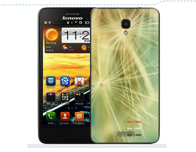 Lenovo S850 Case Luxury PU Flip PVC Cover for Lenovo S 850 Mobile Phone Black White Pink Color(China (Mainland))