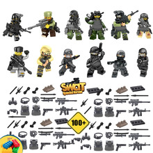 12pcs Army weapon Armed Forces SWAT The Wraith Assault Minifigures Armas Ghost Commando Building Blocks Toy Compatible with lego(China (Mainland))