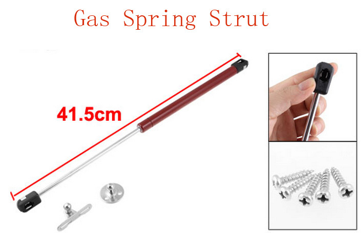 Metal Material Piston Lift 170N Load Gas Air Spring Strut 17Kg Red 2pcs(China (Mainland))