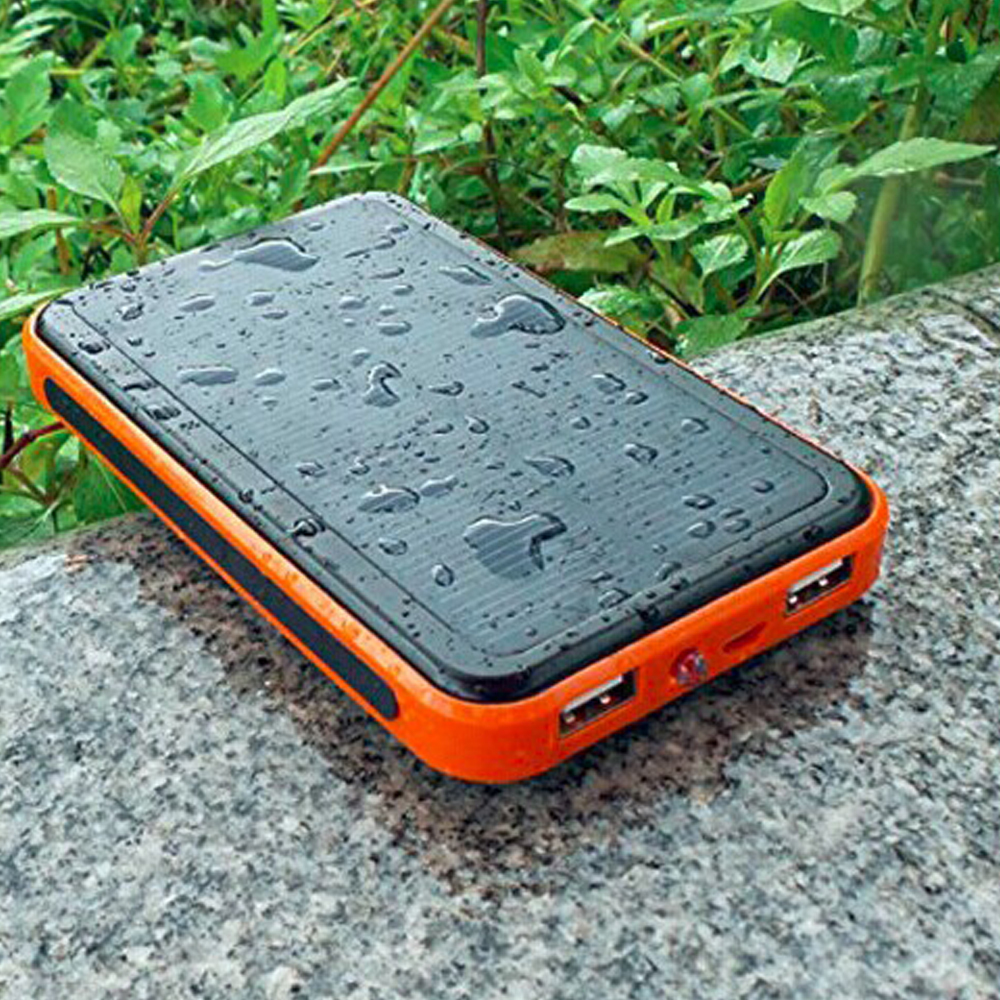 10000mAh Solar Panel Charger Portable Charger Backup External Battery Power Bank for iPhone Tablet PC Smartphones(China (Mainland))
