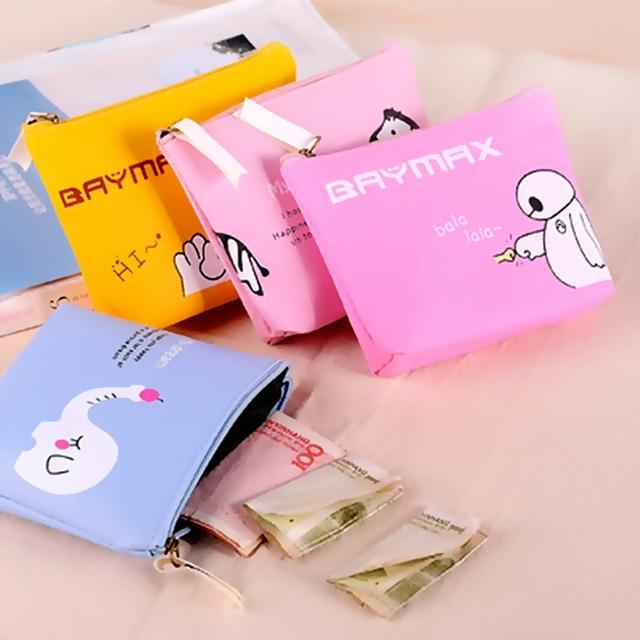 2016 Животных небольшой кремния девушка монет сумка Мини, мини-Кошелек портмоне портмоне ...