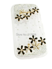 Wholesale Handmade Crystal Bling Diamond Case Cover for Samsung Galaxy S III S3(China (Mainland))