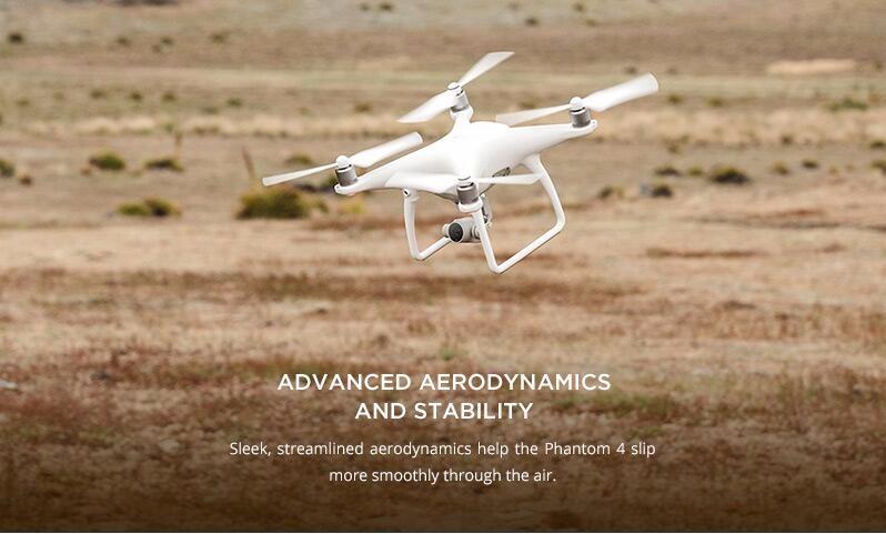 DJI Phantom 4 Quadcopter Aircraft – with Spare DJI Phantom 4 Battery