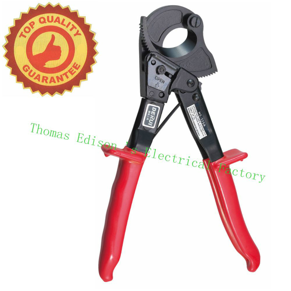 HS-325A 240mm Hand Ratchet Cable Cutter Plier, Ratchet Wire Cutter Plier, Hand Tool, Hand Plier(China (Mainland))