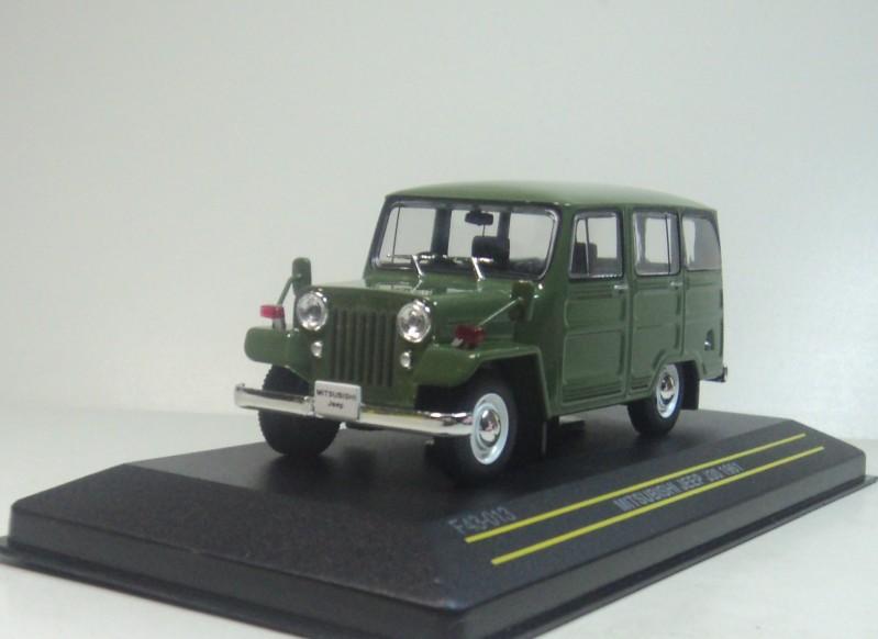 FRIST:43 MODELS 1:43 MITSUBISHI JEEP J30 1961 Diecast model car - F43-013(China (Mainland))