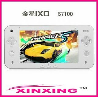 JXD 7 inch S7100 Android 2.3 5 point Capacitive screen Tablet PC dual Camera 8GB HDD Handheld Game Console