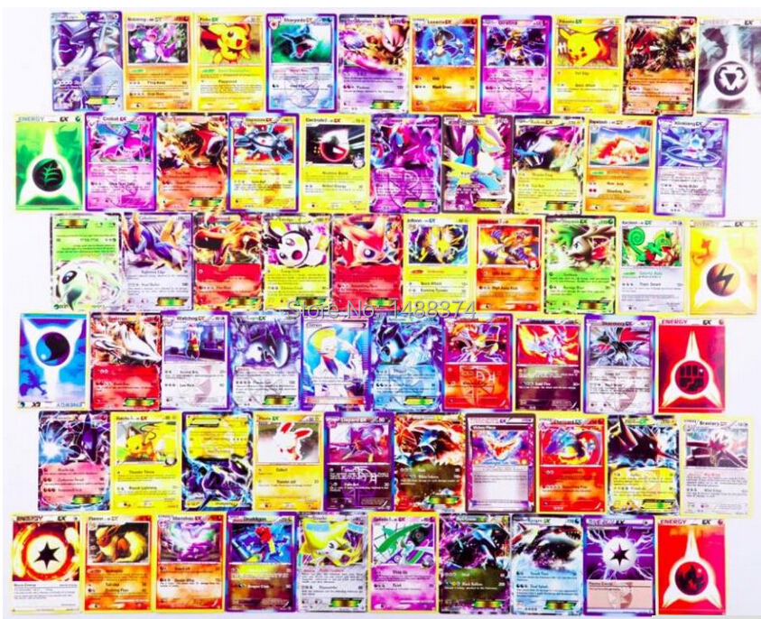 High Quality ALL EX Pokemon EX Card English 30 pieces/lot Pokemon XY Game Cards Japanese Collection Card For Children's Gift(China (Mainland))