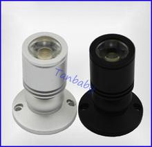 5 pz/lotto mini luce del punto led lampada cabinet 1 w o 3 w ad alta potenza led bianco o bianco caldo ac85-265v indoor illuminazione(China (Mainland))