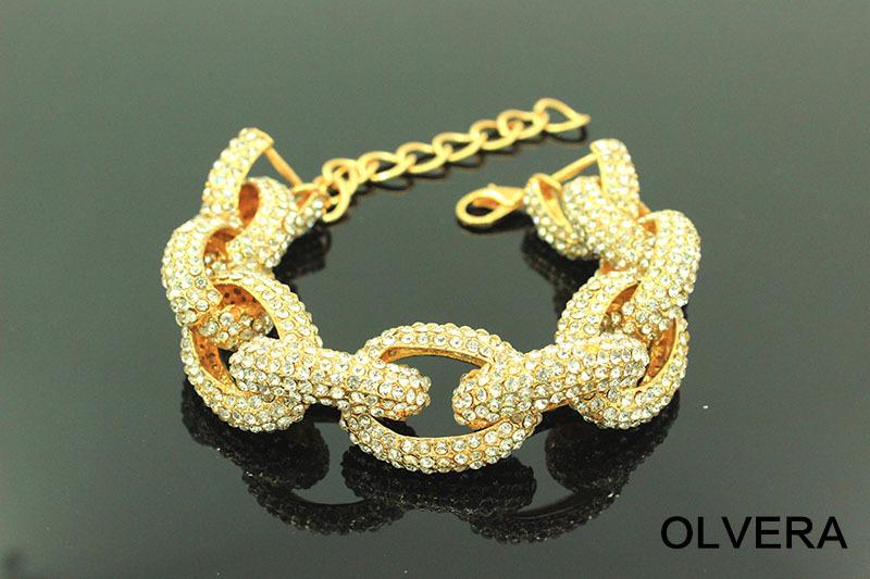 Crystal Bracelet Online Crystal Pave Link Bracelet