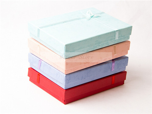 Perfect Christmas Paper Made Gift Box Online Sale Fast Shipping Candy Colors In Stock(China (Mainland))